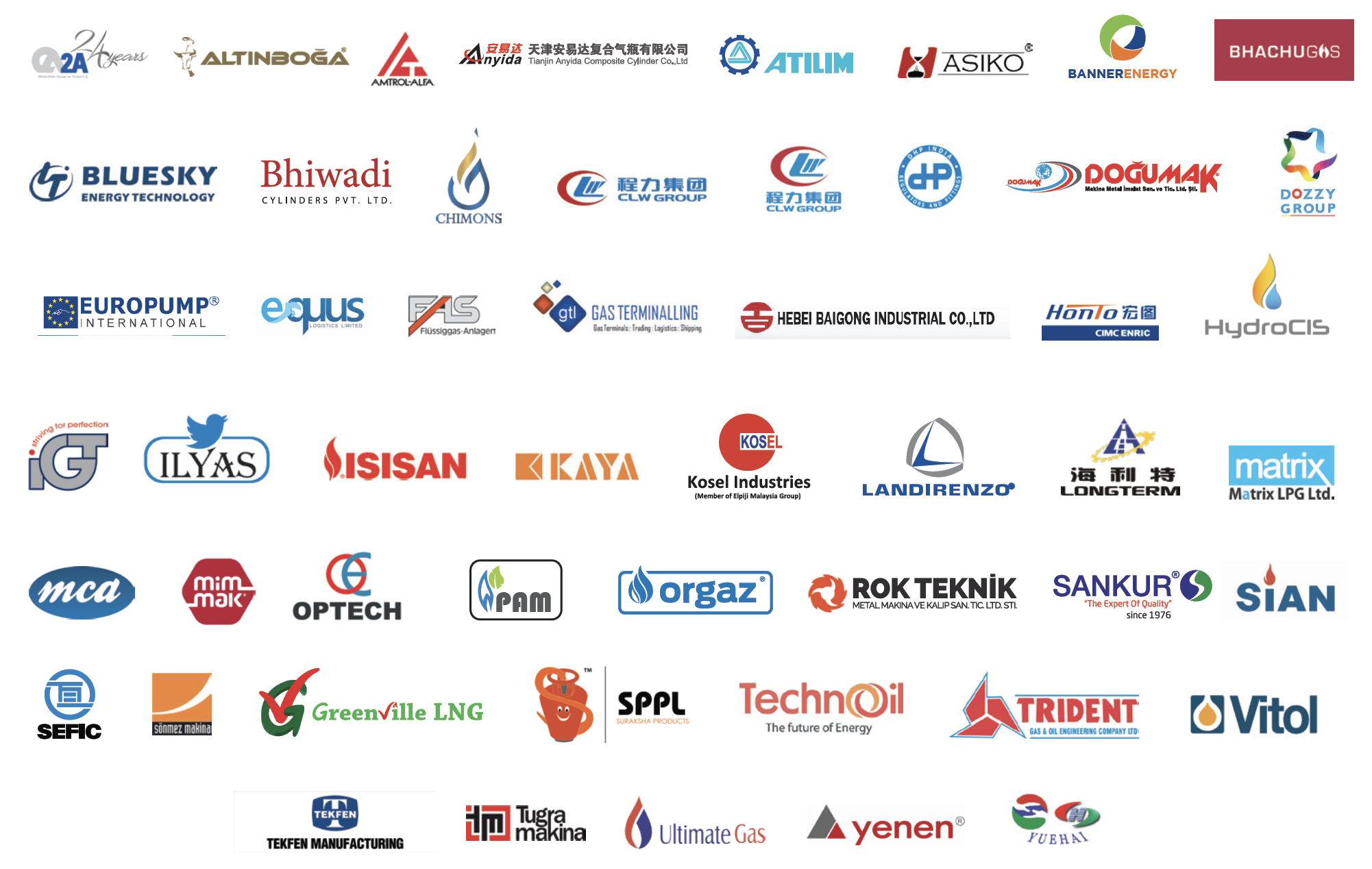 Nigeria LPG Final Exhibitors